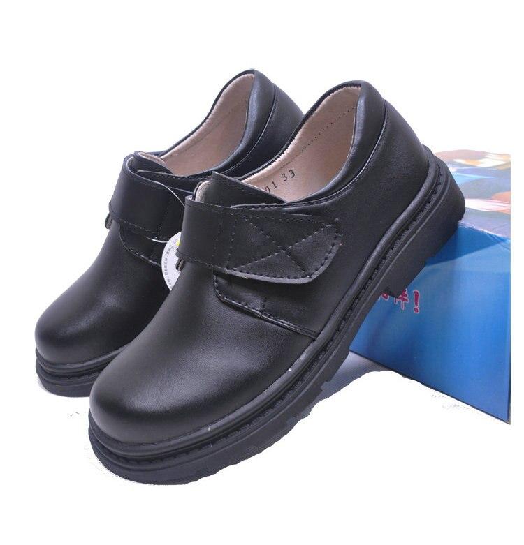 Mode jongens kinderen koe lederen schoenen student school schoenen - Kinderschoenen - Foto 4