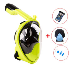 Diving Mask Scuba Underwater Anti Fog Full Face Snorkeling Women Men Kids Swimming Snorkel Equipment