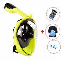 Diving Mask Scuba Mask Underwater Anti Fog Full Face Snorkeling Mask Women Men Kids Swimming Snorkel Diving Equipment