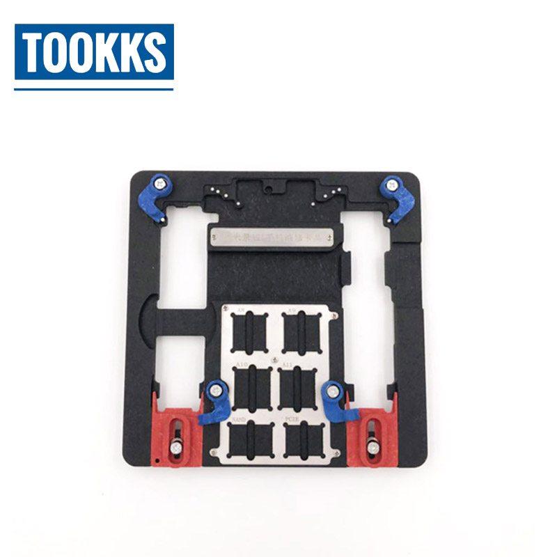 MJ A21 Universal PCB Holder Motherboard IC Repair Platform For iPhone 8 8p 7 6 6S 6P 5S For A7 A8 A9 A10 Logic Board Chip jig