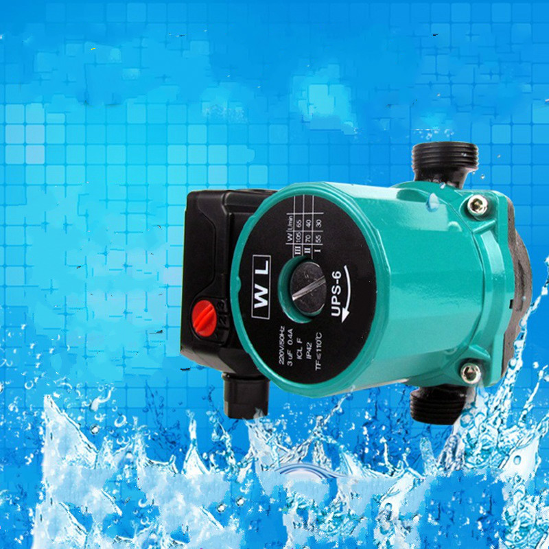 heating hot water circulation pump to warm the ultra quiet booster pump Central Heating Boiler Hot Water Circulat 165W 220V
