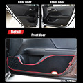4 шт. Ткань Дверь Защиты Коврики Anti-kick Декоративные Колодки Для Honda Accord девятого 2014-2015