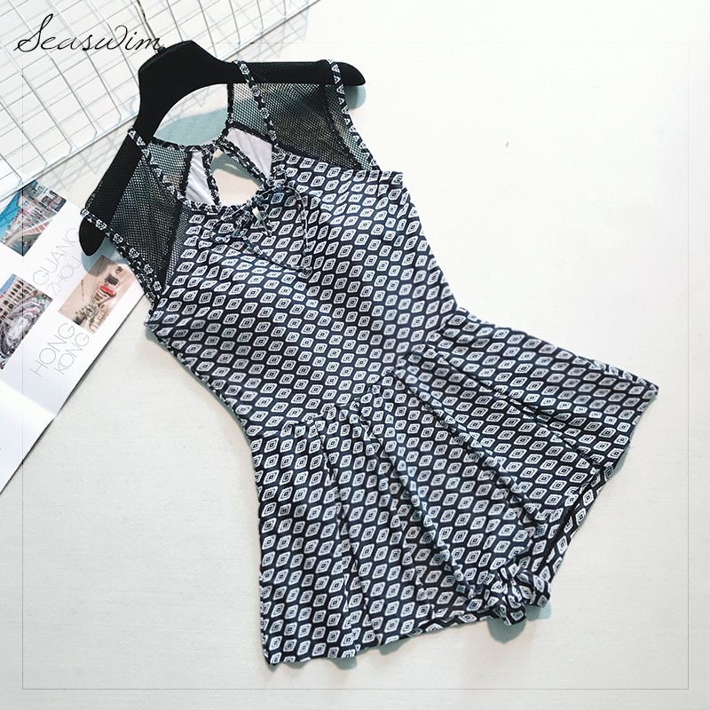 2017 Yingfa Swimwear South Korea Over Swimsuit Sexy Female Cover Belly Thin Gauze Skirt Boxer Spa Conservative Students the new spring and summer ms south korea ensure their boots comfortable show female water thin antiskid tall canister shoe