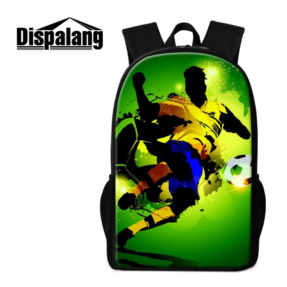 Fashion Gareth Bale Backpacks for boys Cristiano Ronaldo characters back pack for high class student,cool bookbag for children