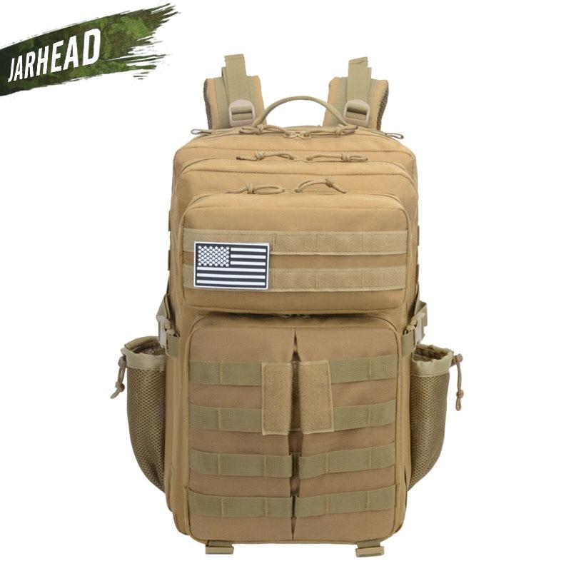 Sac à dos tactique militaire grande armée 3 jours assaut Pack imperméable Molle Bug Out sac sacs à dos randonnée en plein air Camping chasse