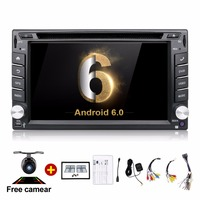 Quad Core 2din Android 4 4 2din Radio Tape Recorder Car DVD Player GPS Navigation In