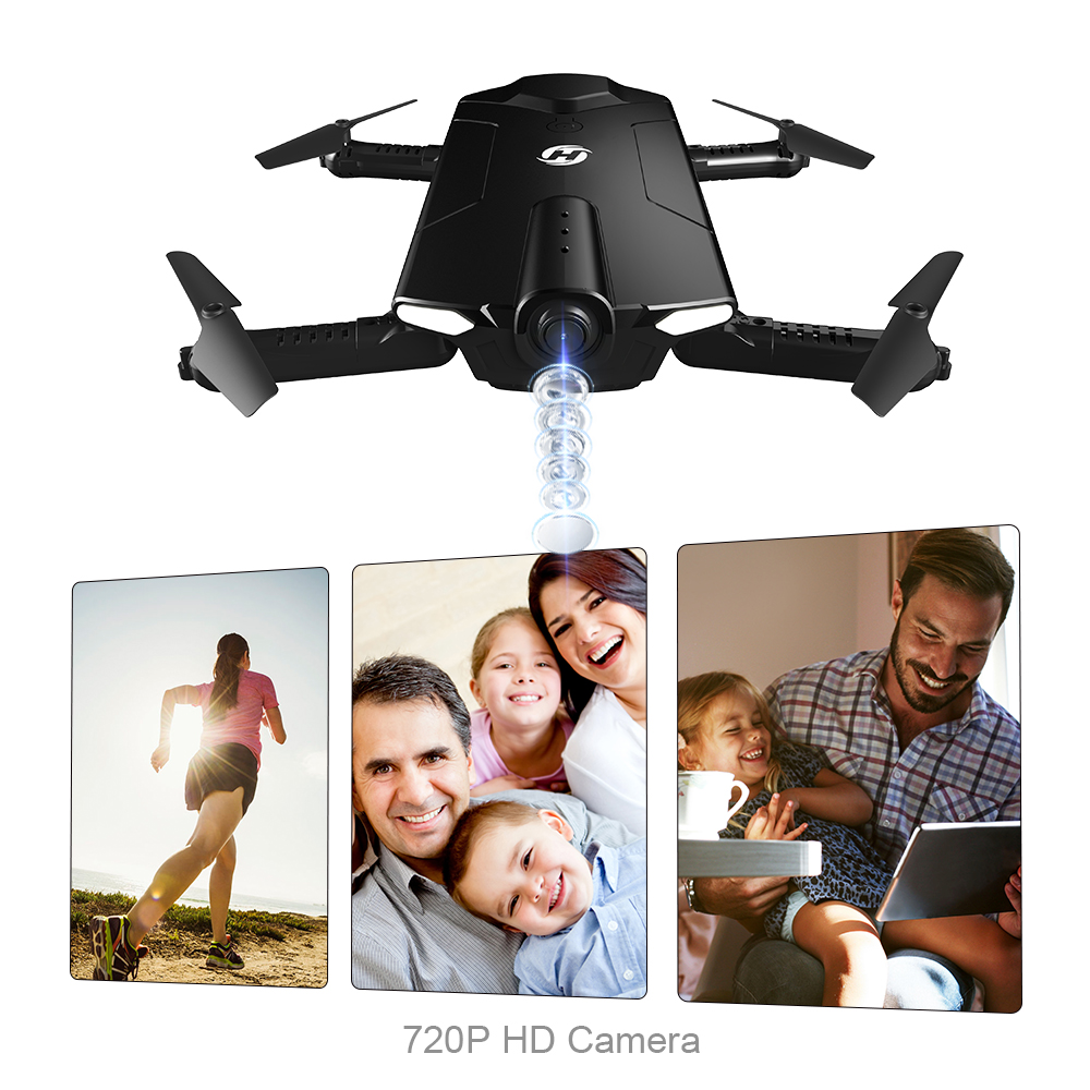 EU US Stock Holy Stone HS160 FPV RC Drone with 720P Wi Fi Camera Live Video 4 Speed Mode One Key Start 2 4GHz Quadcopter Drone in RC Helicopters from Toys Hobbies