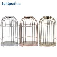 Creative Fake Bird Cage Metal Case Display Rack Shoes Display Tray Garment Store Window Display Fixture Shop Home Decorate Art