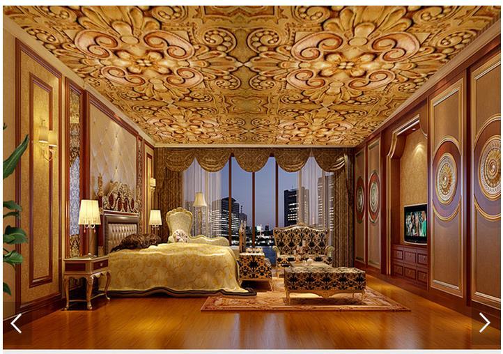 Aliexpress 3d Wallpaper 3d Wallpaper Custom 3d Ceiling Wallpaper Murals European