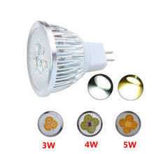 High Power Spotlight Bulb MR16 12V Dimmable 3W 4W 5W LED Light  Warm/Cool White LED Lamp Downlight Free Shipping