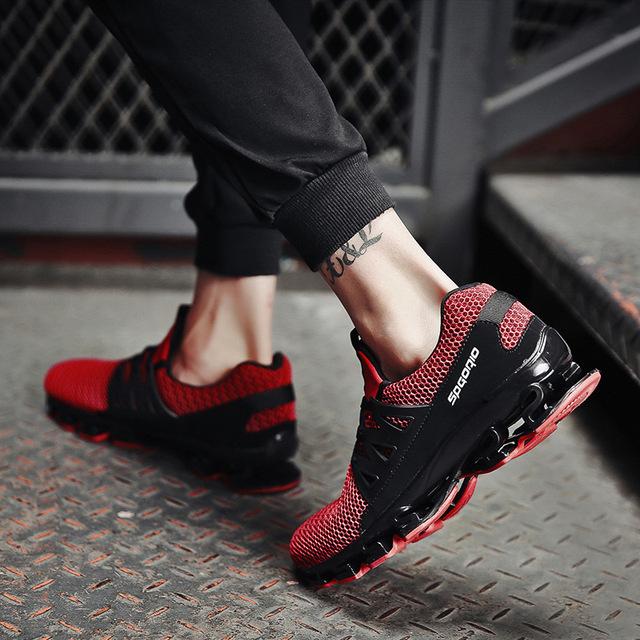 REETENE Summer Men Sneakers Fashion Spring Outdoor Shoes Men Casual Men'S Shoes Comfortable Mesh Shoes For Men Size 36-48