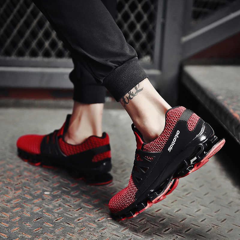 REETENE/летние мужские кроссовки; модная весенняя Уличная обувь; мужская повседневная обувь; удобная мужская обувь из сетчатого материала; размеры 36-48