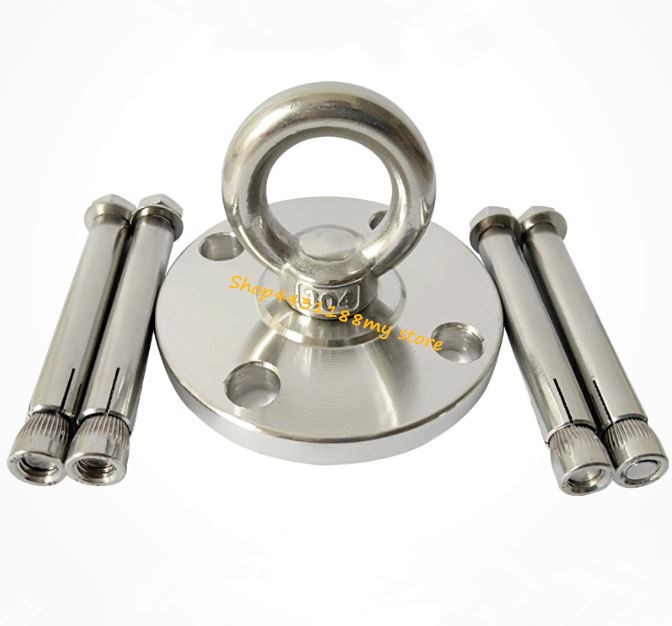 304 Stainless Steel Floor Anchor With Hexagon Screws For Ground