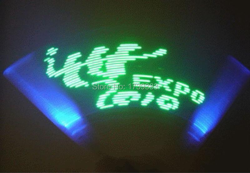 10 Teile/los Lange Diy Programmierbare Led Stick 45 Cm 32led-kundenspezifische Konzert Requisiten Programmierung Logo Digital Light Stick