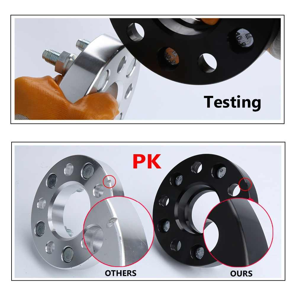 """20MM 3//4/"""" Hubcentric Wheel Adapters For GTR 350Z 370Z 300ZX 5x114 66.1 12x1.25"""