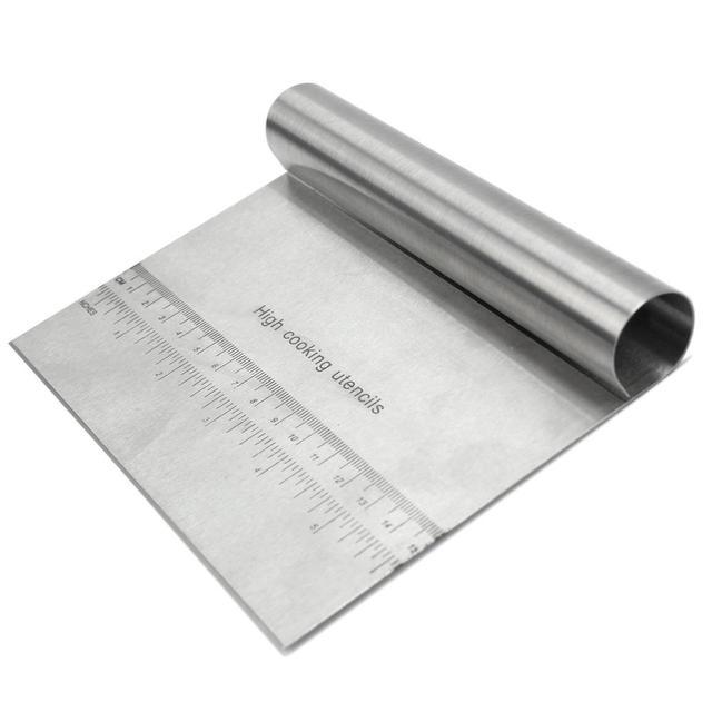 Skala Design Edelstahl Kuchen Pizza Butter Teigkratzer Spreizer Werkzeug  Für Home Küche Restaurant Konditorei