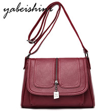 купить 2019 Heat Women Bags for shoulder sac main Messenger Bags mujer Bolsa Feminina leather tote luxury handbags Women Crossbody Bags онлайн