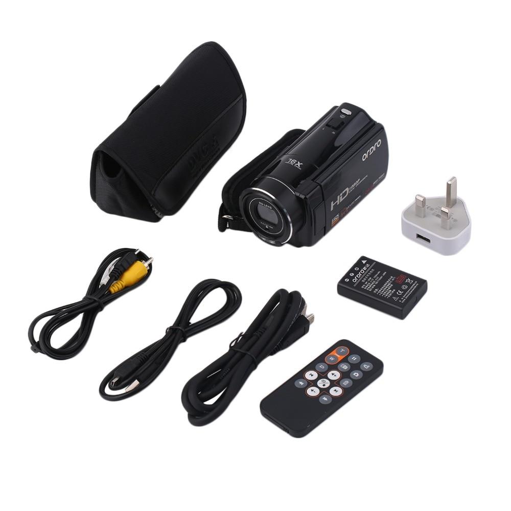 все цены на Indoor Outdoor HD 1080P 24MP Resolution 16X ZOOM 3 Inch TFT LCD Screen Digital Video Camera DV Camcorder Recorder DV-HDV-V7 онлайн