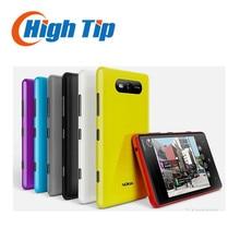 Débloqué original nokia lumia 820 windows mobile téléphone wifi gps 8mp dual core 8 gb mémoire interne rénové par livraison gratuite