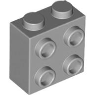 * Кирпич 1x2x2/3 Вт. 4 ручки * Y2207, 50 шт., деталь «сделай сам» для Просвечивающего блока, кирпича, № 22885, совместима с другими сборными элементами