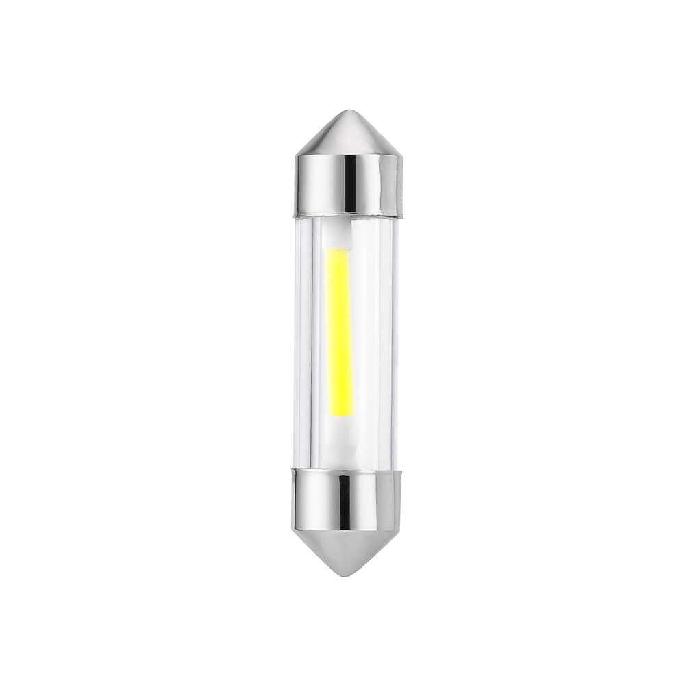1PIC LED Memperhiasi Dome 36 Mm C5W LED Interior Mobil Lampu Putih Dingin Membaca License Plate Lampu Lampu LED bohlam Cover Lampu 12 V