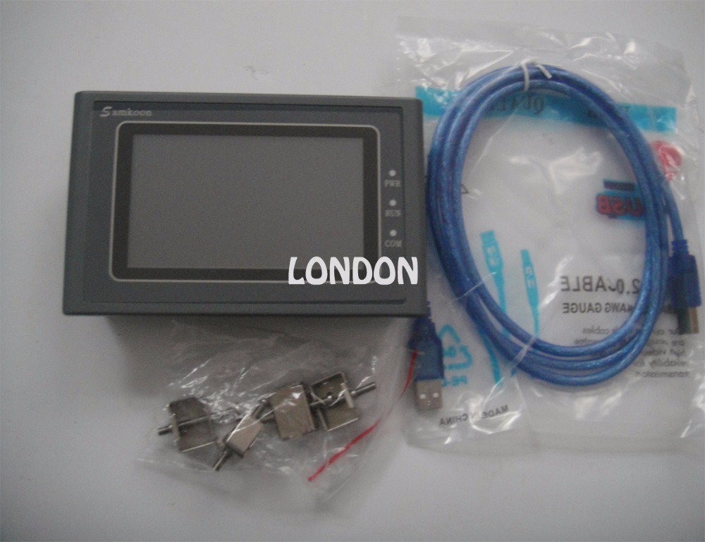 SK-043AE Samkoon HMI Touch Screen 4.3inch 480*272 1 USB Host new in box