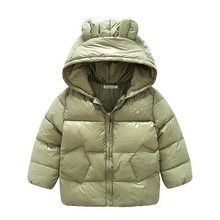 5 colors Autumn Winter Baby Boys & Girls Jackets Kids Warm Jacket For Infant Girls Outerwear Coat Children Jacket Clothes