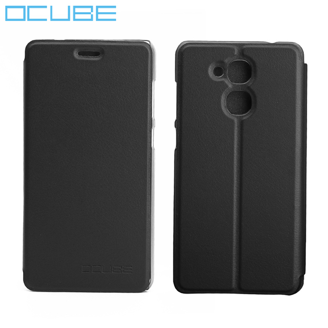 ocube Vernee M5 Case Ultra-thin PU Leather Cover Anti-knock With Stand Function Case For Vernee M5 Mobile Phone 5.2inch