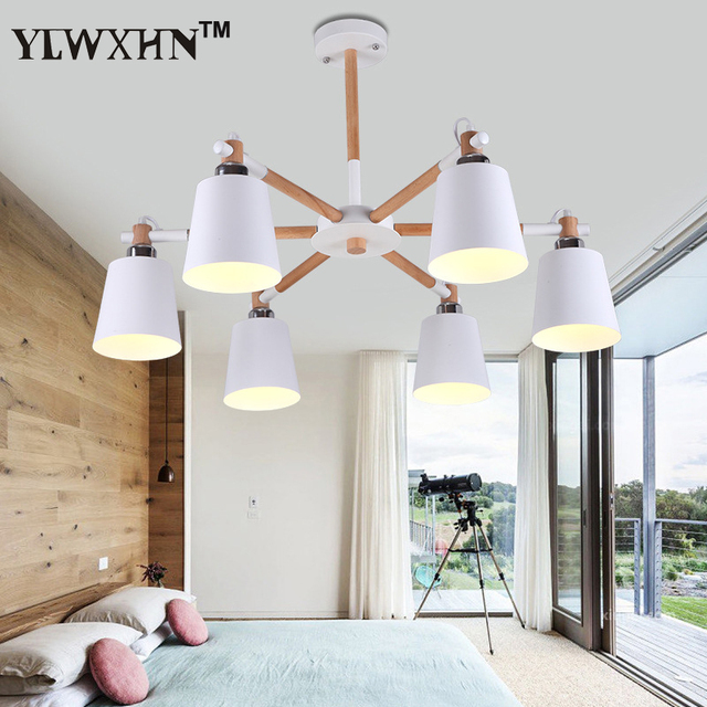 Suspension Luminaire Style Nordique Salon Lustre Moderne Minimaliste ...