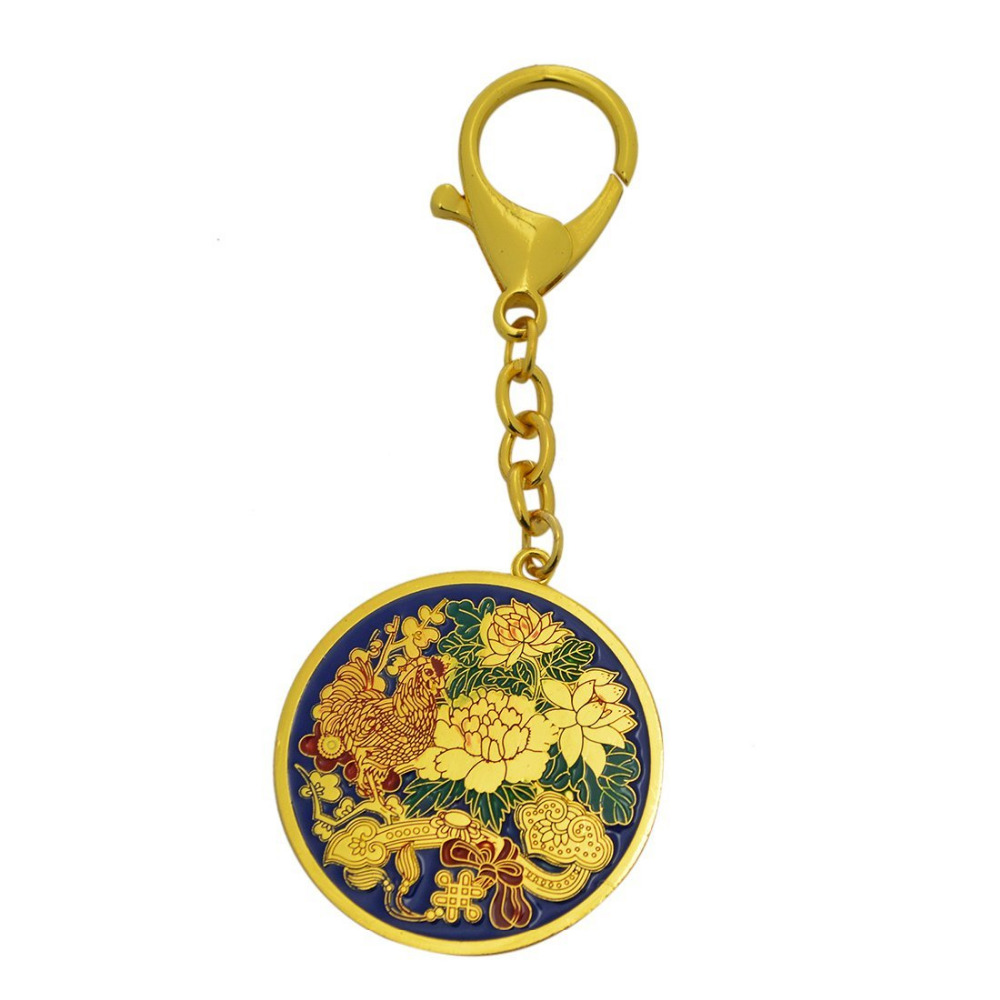 2017 Yeni Feng Shui İllik Bahar Amulet Anahtarlığı - Ev dekoru - Fotoqrafiya 2