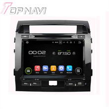 9″ Quad Core Android 5.1 Car GPS Navigation For Toyota Land Cruiser 200 2008-2012 With Radio Multimedia Video Mirror Link 16GB