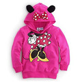Fall and Winter Fashion Print Lovely Baby Girls Kids Minnie Dot Tops Hoodies Coat Outfits Set Clothes Sweatshirts E Warn