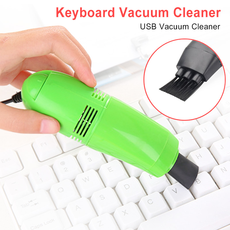 Multifunctional Computer Brush Dust Cleaning Tool Mini Vacuum USB Keyboard Cleaner For Laptop Keyboard Camera Phone