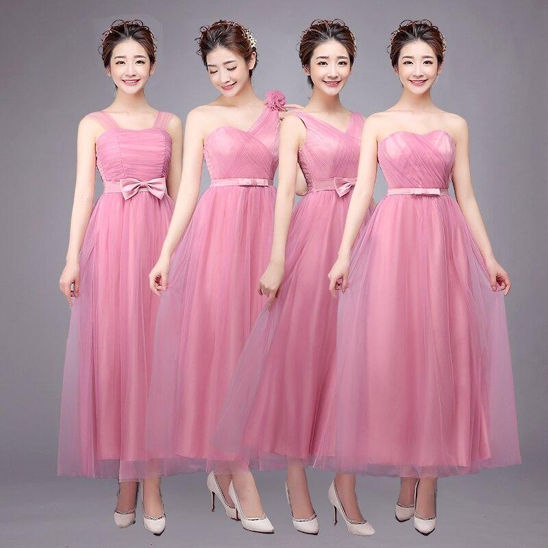 Moderno Vestidos De Dama De Honor Grupo Ideas Ornamento Elaboración ...