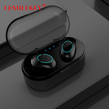 TWS Bluetooth Headphone 5.0 Wireless Earbuds HIFI 6D Stereo Handsfree Control Noise Cancelling Earphone Headset for phone YZ275