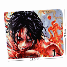 One Piece Ace Luffy Wallet