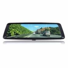Otstrive 10 дюймов потокового видео Регистраторы Двойной объектив Full HD 1080 P 24 часа в сутки видеорегистратор зеркало заднего вида с датчиком движения видеорегистратор DVR