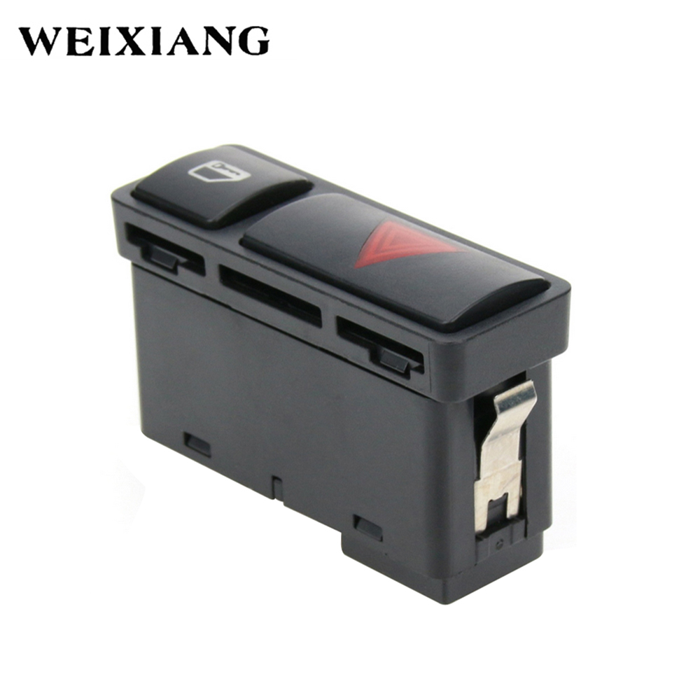 Hazard Warning Light Switch Front fits for 1999-00 BMW 323i 2001-05 BMW 325Ci 2001-05 BMW 325i 330i 330Xi 2001-05 BMW 325Xi 2000 BMW 328Ci 1999-00 BMW 328i 2001-06 BMW M3 61318368920
