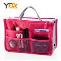 Y-FLY 2016 Multifunction Makeup Organizer Bag Women Cosmetic Bags toiletry kits Travel Bags Ladies Bolsas Multi Storage HB004