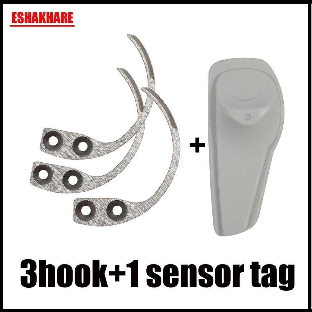 Security Hook Detacher 3 Piece For 58Khz Super Eas Tag 3 Key Detacher And 1 Sensor Tag Eas Systems