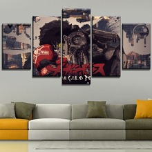 Home Decorative Modular Style Canvas Picture One Set 5 Piece Artwork Modern HD Print Type Anime Megalo Box Joe Painting