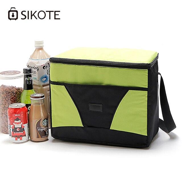 Sikote Insulation Lunch Box Keep Fresh Women Men Kid Thermal Food Picnic Office Bag Diagonal