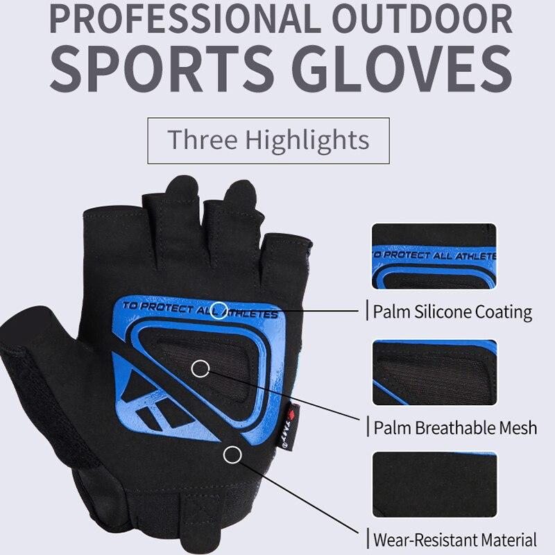 TMT Αθλητικά Γάντια Αντιολισθητικά - Fitness και bodybuilding - Φωτογραφία 3