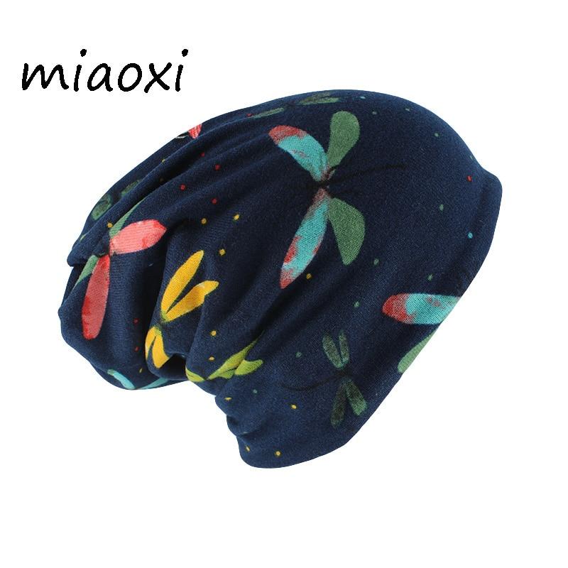 Miaoxi Autumn Adult Skullies & Beanies Women Warm Caps Scarves Soft Cap Winter Head Caps New Female Fashion Hip Hop Gorros