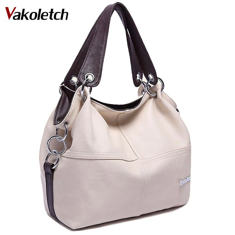 2018 Modedesigner Frauen Handtasche Weibliche PU Leder Reisetaschen Handtaschen Damen Marke Umhängetasche Damen Hobos Tasche Totes V5