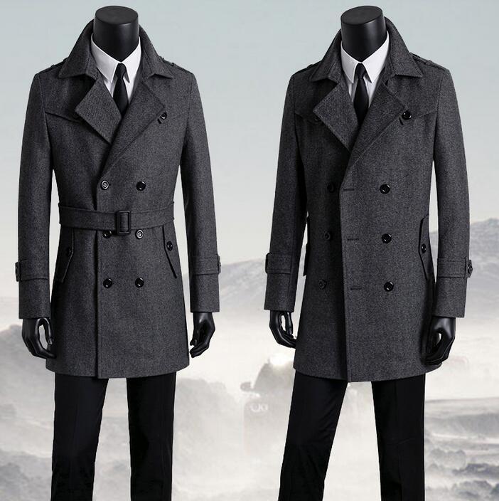 Zweireiher Us89 Manteau Mode Casual Herren Mantel Grau Wollmantel Business 18Off herrenbekleidung Plus Mäntel Homme Männer Größe Woolen 38 In dhQrtsC