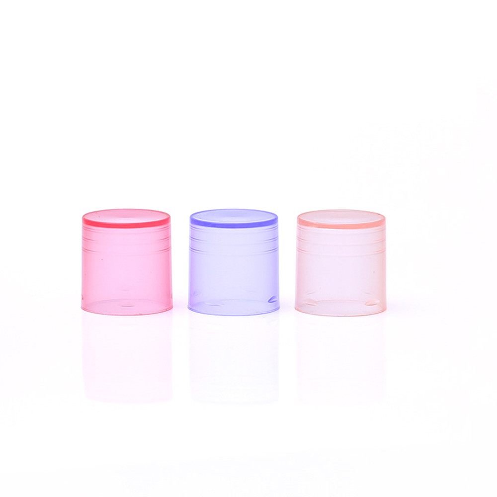 Image 4 - 10 Pcs/lot 5g 5ml Lipstick Tube Lip Balm Containers Empty Cosmetic Containers Lotion Container Glue Stick Clear Travel Bottle-in Refillable Bottles from Beauty & Health