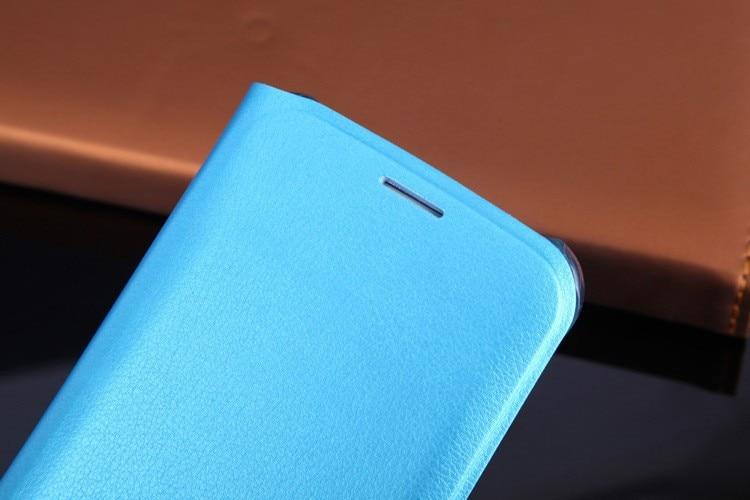 Läderplånbok för Samsung Galaxy S6 G920 G920F G920i G920H - Reservdelar och tillbehör för mobiltelefoner - Foto 4