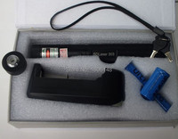 Strong power Military Flashlight 200000m 20w 532nm High power Green laser pointers Burn Matches & cigarette+Key+Changer+gift Box