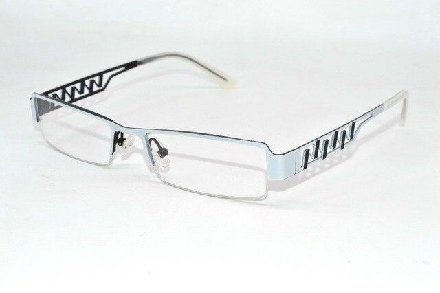 Фиолетовый multi-layer покрытие Леди темперамент Металла Оптических Rim рамы на заказ Рецепту близорукость очки Photochrmic-1 to-6